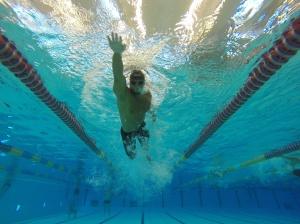 Simning är bra för kroppen