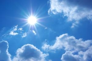 Äntligen värme och sol